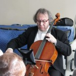 Shimon Walt playing for us at the January 2015 meeting